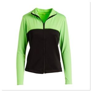 Neon Green & Black Jacket